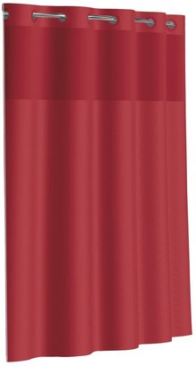 Hookless Dobby Pique Mystery Fabric Shower Curtain