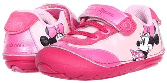 Stride Rite SRT SM Sporty Minnie (Infant/Toddler) (Pink) - Footwear