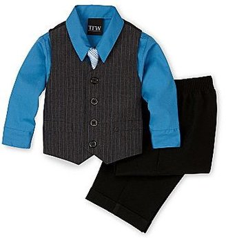 JCPenney Striped Vest Set - Boys 2t-5t