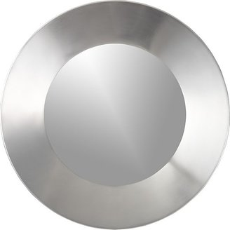 Crate & Barrel Iso Round Wall Mirror
