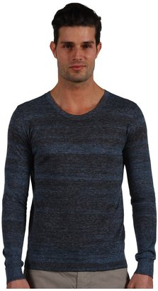 Theory Dryden Sweater (Atlantic Lead) - Apparel