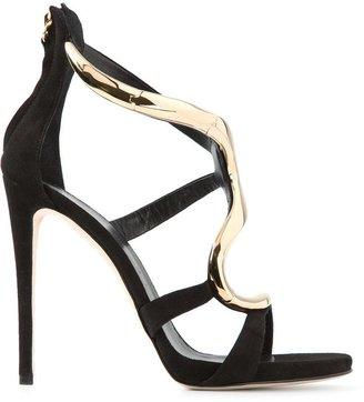 Giuseppe Zanotti Design curved sandals
