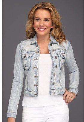 KUT from the Kloth Button Front Jacket W/ Pocket (Sweet) Women's Jacket