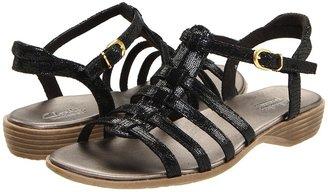 Clarks Dusk Night (Black Lizard) - Footwear