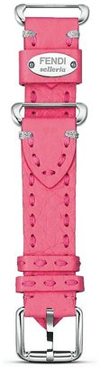 Fendi Selleria Pink Erica Leather Watch Strap