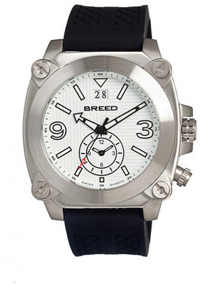 Breed Vin Men's White Silver