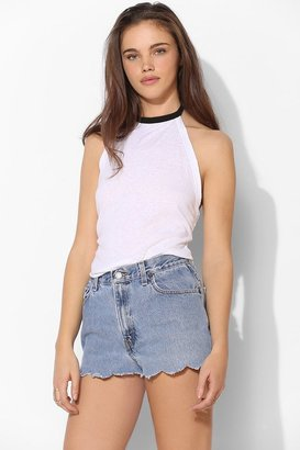 Truly Madly Deeply Ringer Halter Top
