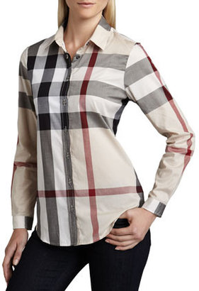 Burberry Classic Check Blouse