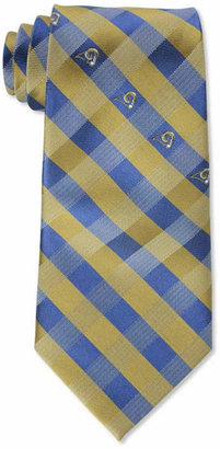 Eagles Wings Los Angeles Rams Checked Tie $24.99 thestylecure.com