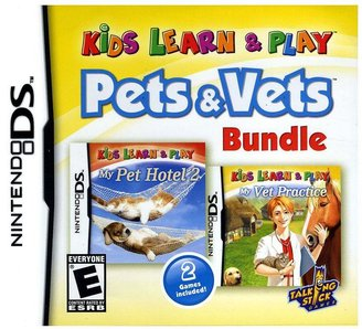 Nintendo Kids learn & play: pets & vets bundle for ds
