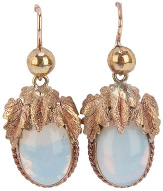 Merchant Archive Vintage 1830-1840 drop earrings