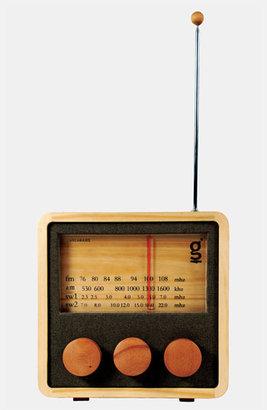 Areaware Handcrafted Pine & Mahogany 'Magno' Radio, Medium