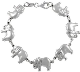 Sterling Silver Elephant Link