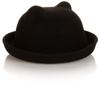 Accessorize Cat Bowler Hat