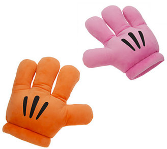 Disney Mickey Mouse Plush Gloves - ''Mickey Mitts'' - Pink/Orange