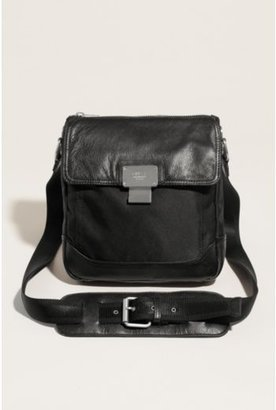 GUESS Never Without Leather and Nylon Cross-Body Bag