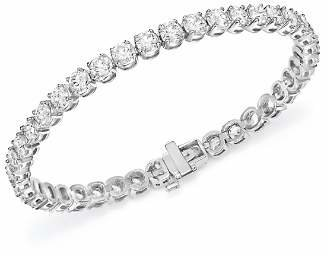 Bloomingdale's Certified Diamond Tennis Bracelet in 14K White Gold, 10.0 ct. t.w. - 100% Exclusive