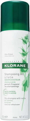 Klorane Dry Shampoo for Oily Hair with Nettle by 3.2oz Shampoo)