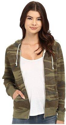Alternative Printed Adrian Hoodie (Eco Camo) Women's Sweatshirt