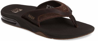 Reef 'Fanning Leather' Flip Flop