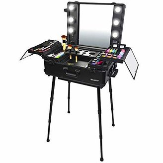 SHANY Studio To Go Makeup Case with Light - Pro Makeup Station -