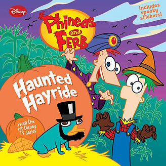 Disney Phineas and Ferb Haunted Hayride Book