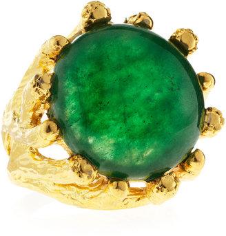 Devon Leigh Green Jade Ring