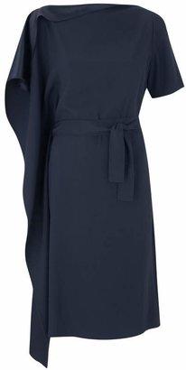 Amanda Wakeley Valley Midnight Silk Dress