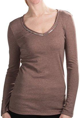 True Grit Dylan by Bugle-Bead T-Shirt - V-Neck, Long Sleeve (For Women)