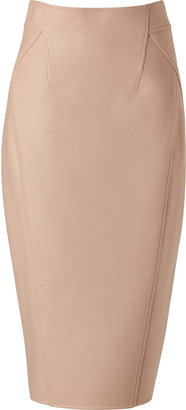 Donna Karan Blush Seamed Pencil Skirt