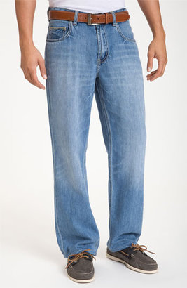 Tommy Bahama 'Island Ease' Classic Fit Jeans (Vintage Light)