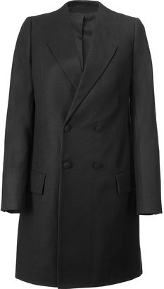 Givenchy Black Wool Coat