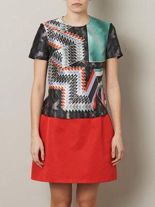 Peter Pilotto Kado printed silk blouse
