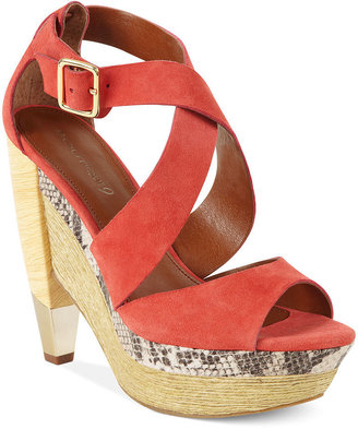 Boutique 9 Shoes, Umberta Modern Wedge Sandals