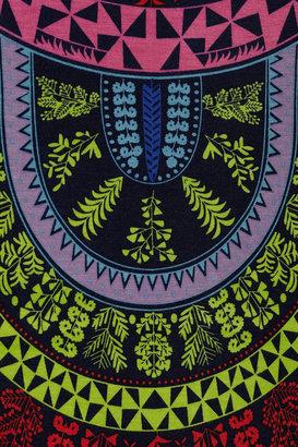 Mara Hoffman Cutout-back printed jersey maxi dress