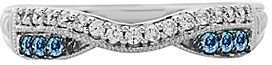 JCPenney 1/4 CT. T.W. Diamond Contoured Wedding Band
