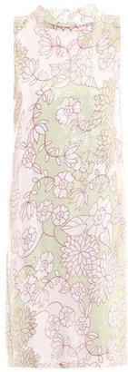 Diane von Furstenberg Rose embellished dress