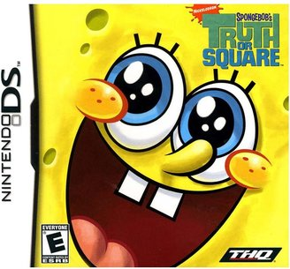 Nintendo ds TM spongebob's truth or square