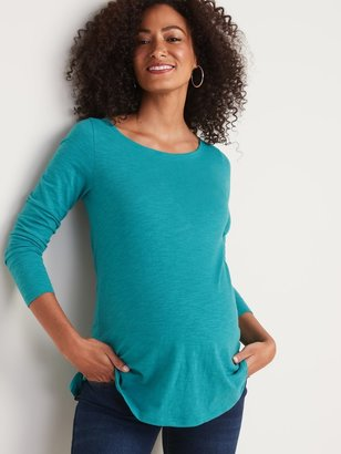 Old Navy Maternity Relaxed Boat-Neck Tunic