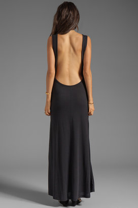 Blue Life Open Back Maxi Dress