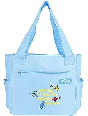 Trend Lab Trend Lab, Llc Dr. Seuss One Fish, Two Fish Tote Diaper Bag