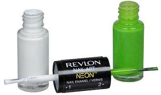Revlon Nail Art Neon Nail Enamel Fluorescent