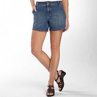 JCPenney St. John's Bay® Slash-Pocket Denim Shorts
