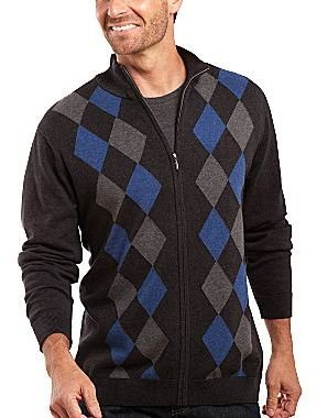 Claiborne Zip-Front Sweater