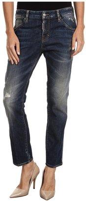 DSquared DSQUARED2 - S72LA0535S30330470 5 Pocket Pant (Blue) - Apparel
