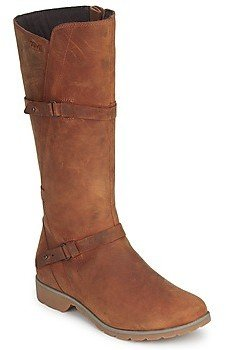 Teva DELAVINA LEATHER women's High Boots in Brown