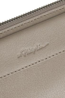 3.1 Phillip Lim Depeche large leather clutch