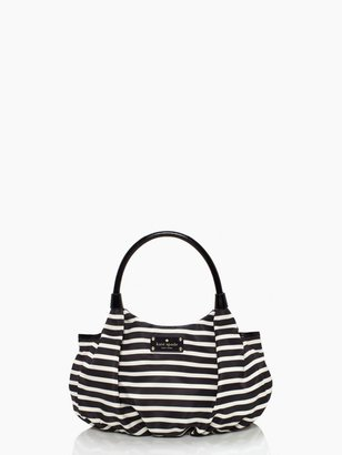 Kate Spade nylon stripe small karen