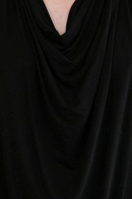 Michael Stars Draped Halter in Black