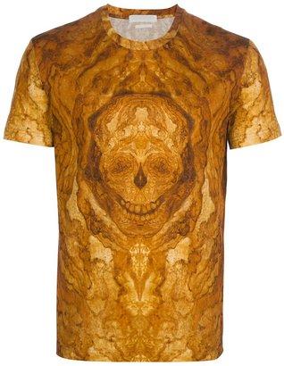 Alexander McQueen marble effect skull t-shirt